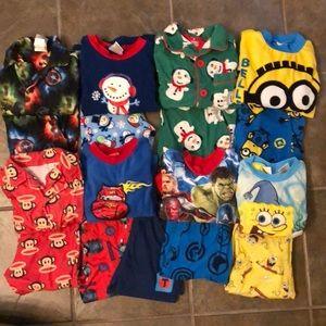 Other - Boys pajama set bundle size 4